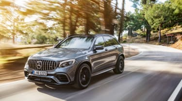 Mercedes-AMG GLC 63 front tracking