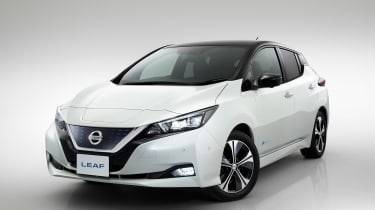 New Nissan Leaf - front static