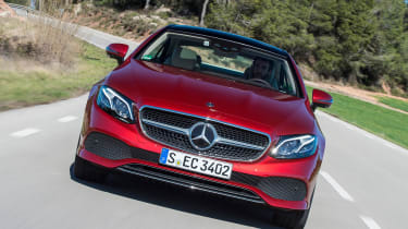 Mercedes E-Class Coupe - E 220d front end tracking