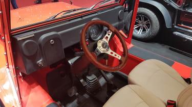 E-Moke interior