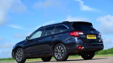 Subaru Outback - rear