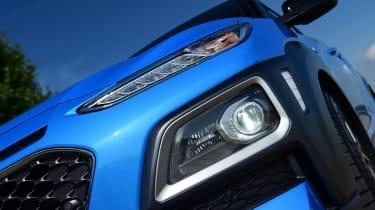 Hyundai Kona Hybrid - headlight