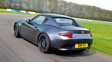 Mazda MX-5 BBR GTi Turbo - rear action