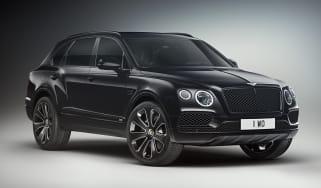 Bentley Bentayga V8 Design Series - black front