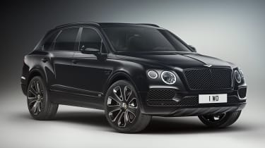 Bentley Bentayga V8 Design Series - black front