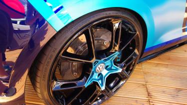 Volkswagen Golf GTI First Decade Worthersee reveal wheel