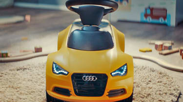 Dream Christmas gifts for petrolheads 2017 - Audi ride on