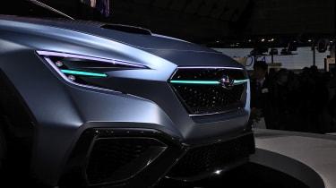 Subaru VIZIV Performance Concept - front detail
