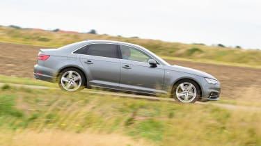 Audi A4 long-term test - side
