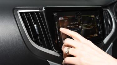 Suzuki Baleno long-term third report - touchscreen