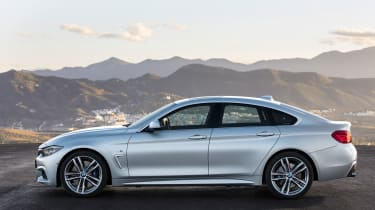 BMW 4 Series facelift 2017 - Gran Coupe side