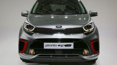 Kia Picanto GT Line 2017 - grey front detail