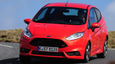 Ford Fiesta ST front cornering