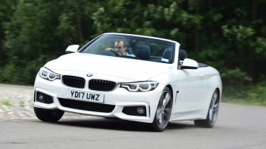 BMW 430i Convertible - front cornering