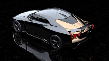 Nissan GT-R50 by Italdesign prototype back