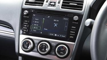 Subaru XV - infotainment screen