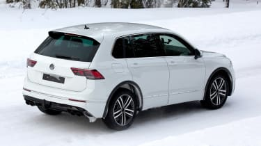 Volkswagen Tiguan R - spyshot 12