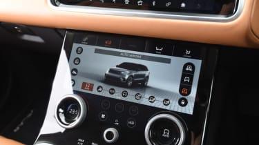 Range Rover Velar - diesel controls