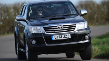 The Hilux is a great alternative to it's competitors.