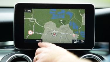 Mercedes GLC long-term third report - sat-nav