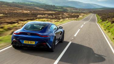 Aston Martin Vantage rear