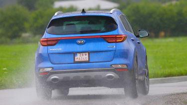 Kia Sportage 48V hybrid - rear