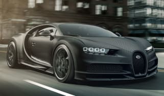 Bugatti Chiron Noire - front tracking