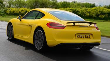 2014 Porsche Cayman rear
