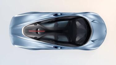 McLaren Speedtail - above