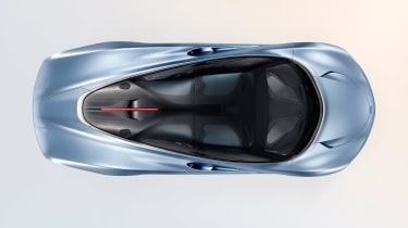 McLaren Speedtail - above