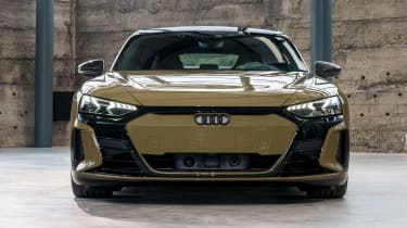 Audi e-tron GT - brown full front