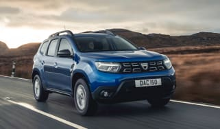 Dacia Duster 2021 facelift - front