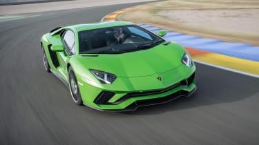 Lamborghini Aventador S - front cornering