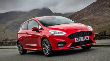 New Ford Fiesta ST-Line - front