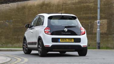 Renault Twingo long-termer - rear cornering