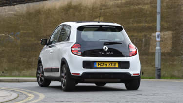 Renault Twingo long-termer - rear cornering