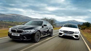 BMW M5 vs Mercedes-AMG E 63 S - head-to-head