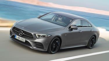 Mercedes CLS - front