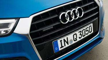 New Audi Q3 2015 grille