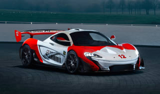 McLaren P1 GTR produced by MSO - front
