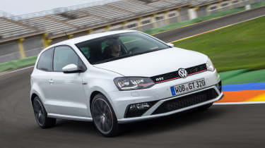 VW Polo GTI - front cornering