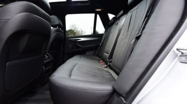 Used BMW X5 - rear seats