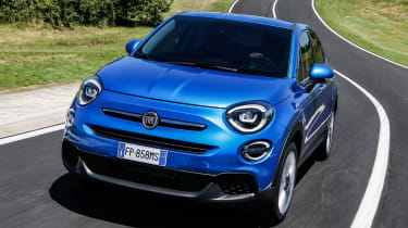 Fiat 500X - front