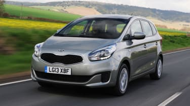 Kia Carens front tracking