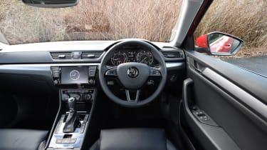 Skoda Superb long-term test - interior