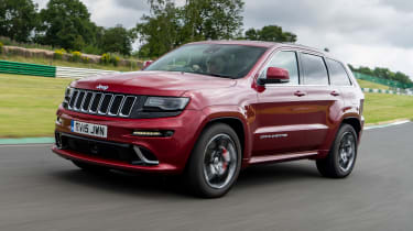 Jeep Grand Cherokee SRT - front tracking