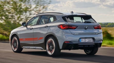BMW X2 M Mesh Edition - rear tracking