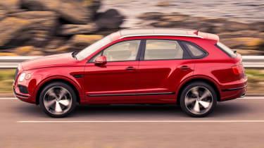 Bentley Bentayga V8 petrol announced - side profile