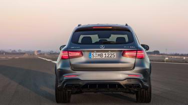 Mercedes-AMG GLC 63 rear