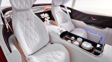Vision Mercedes-Maybach SUV - rear cabin